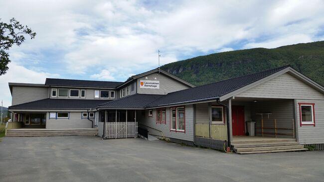 Bilde av barnehagebygning på Tennevoll