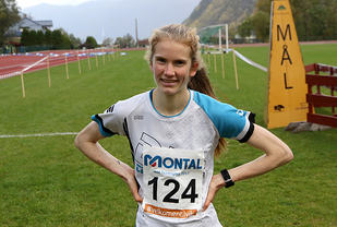 Ennå ikke noen konkurrenter i sikte etter målpassering for Lucia Philipp som vant juniorklassen