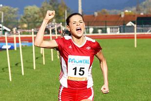 Live Solheimdal kan juble for sitt første NM-gull i terrengløp