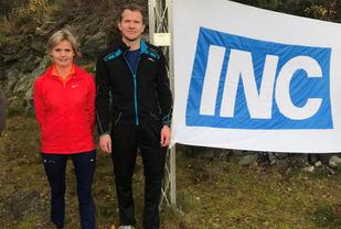 Norunn Stavø, Florø T og IF satte ny løyperekord da hun vant 10 km i kvinneklassen. Mads Knutsen, Florø gikk til topps på 10 km - herrer. (Foto: Jan Grov)