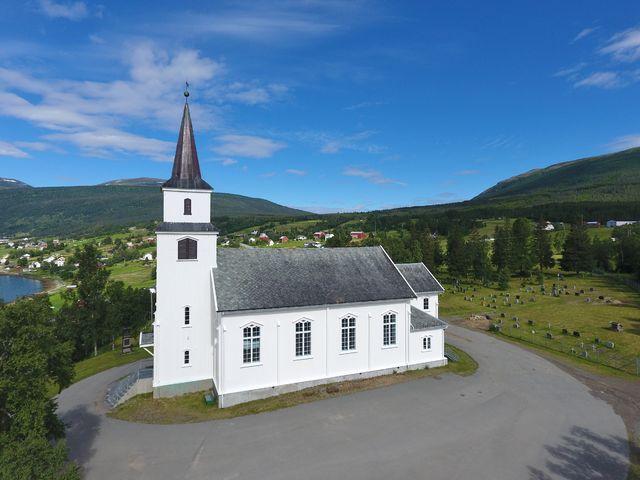 Lavangen kirke 125 år i 2016