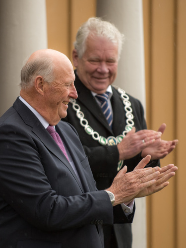 Kongen og ordføreren