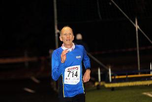 Bjørn Harald Bongom er en trofast sliter på Espeland, her under sesongens 1. løp