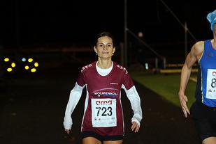 Vigdis Gaupholm Reeigstad i mål i det første løpet