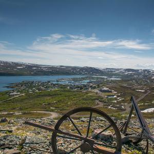 Båtsfjord sett fra Skrovnes