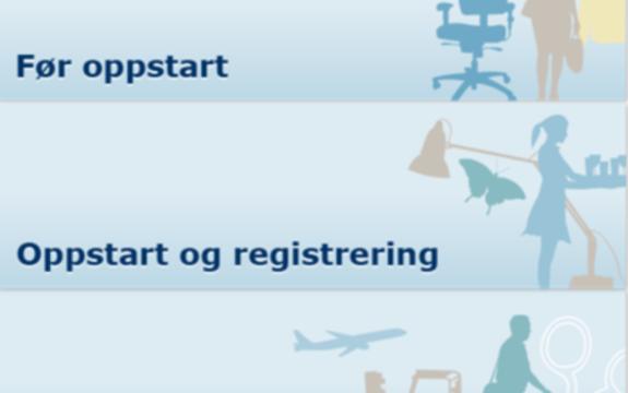 Etablere eget selskap og du trenger bistand til etablering, registrering og drift