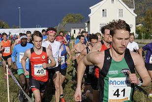 Eivind Øygard (41) som tok sølv i NM terrengløp, er en av fire mannlige seniorløpere som er tatt ut. (Foto: Eirik Myking)