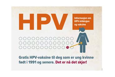 HPV - Vaksine logo.png - Kilde: Folkehelseinstituttet