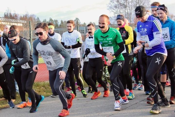 Barteløpet er et av de nye løpene Oslo har fått de siste fire årene. Foto: Arrangøren
