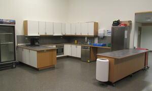 Foto av kjøkkenet i lauvhallen