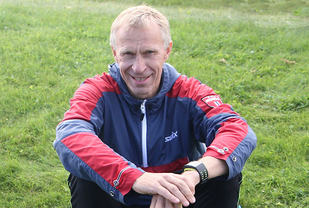 Kristen Aaby som i flere år har vært Norges beste veteranløper, fortsetter å imponere. (Arkivfoto: Runar Gilberg)