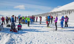 Pausested i skirennet