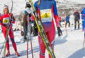 Vinner av skiløp etter løpet