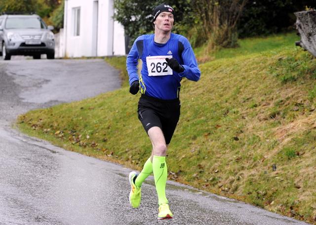 vinterkarusellen, 11.11.2017: Kristian Nedregård, nr. 2 på 5 km.,
