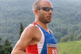 Ultraløpsutvalgets nye leder er imledelsen også på dette bildet - fra  Rallarvegsløpet 2013 der han vant. (Foto: Runar Gilberg)