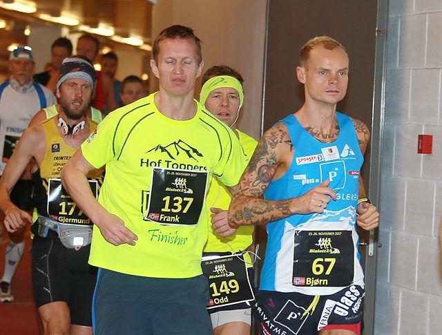 To av profilene i fjorårets løp, Frank Løke og Bjørn Tore Kronen Taranger, er klare for ny start i 2018. (Foto: Kjell Vigestad)