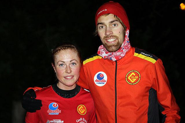 Gular-duoen Eli Anne Dvergsdal og Ivar Stefansson