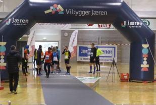 Start, mål og runding blir inne i Undheimshallen. (Arrangørfoto 2017)