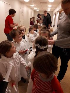 Luciatog i barnehagen