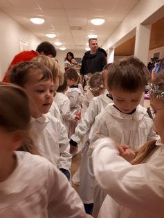 Luciatog i Eid barnehage