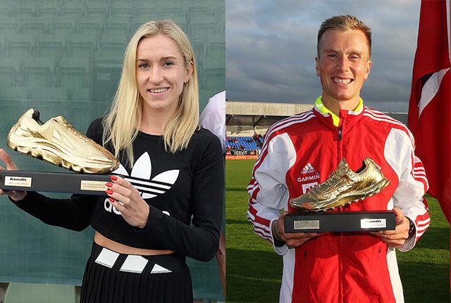 Karoline Bjerkeli Grøvdal og Sondre Nordstad Moen er virkelig blitt gullskogrossister. Også i 2017 gikk de til topps i Kondis' kåring av landets beste langdistanseløpere. (Foto: Bjørn Johannessen og Tom Roger Johansen)