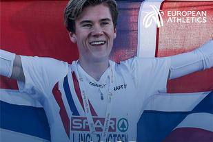 Jakob Ingebrigtsen vant juniorklassen i EM terrengløp og kan nå bli månedens europeiske utøver for desember. (Foto: Det europeiske friidrettsforbundet)