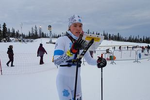 Vinner av H17-20 Vegard Gulbrandsen, Asker Skiklubb. (Foto: Stein Arne Negård)