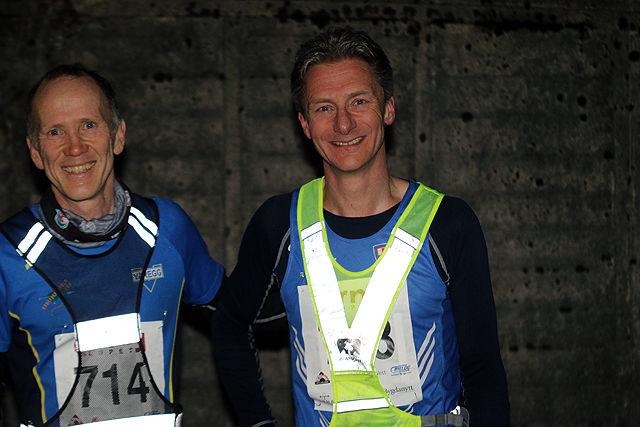 Bjørn Harald Bongom og Erik Iden smiler selv om resultatene deres ikke er kommet på listen enda