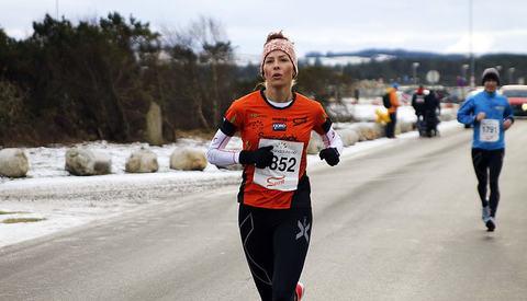 Sara Aarseth Jünger vinner halvmaraton