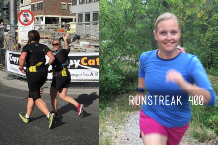 Tone Yvonne Killengreen er en runstreaker.