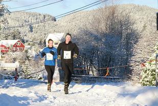 Det var mye snø under januarløpet 2014. Det ventes vinter på lørdagens løp også