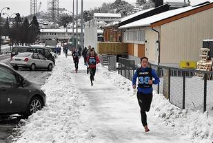 Ingrid Ukkelberg på veg til seier i forrige helgs løp i vinterkarusellen i Kristiansand. (Foto: Ivar Gogstad)