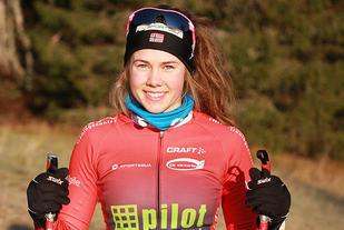 Berit Gjelten, Vestbyen IL vant den 33. utgaven av Nordmarka Rundt i Klæbu. (Arkivfoto: Ingrid Lorvik)