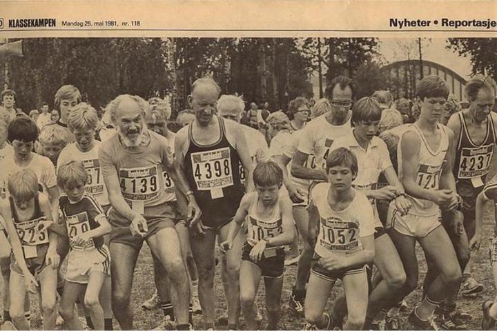 Fra Osloløpet 1981