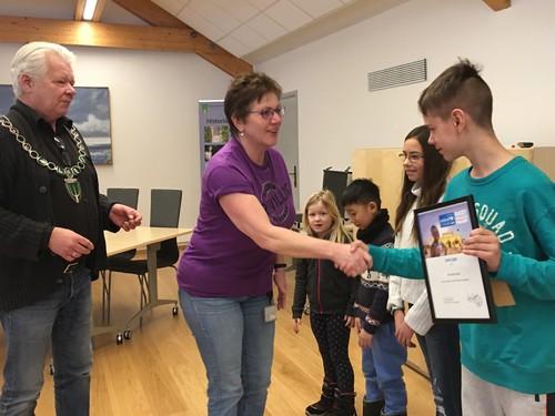 Diplom Blystadlia skole - TV-aksjonen 2017