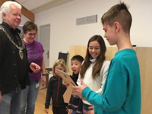 Diplom Blystadlia skole - for innsats TV-aksjonen 2017
