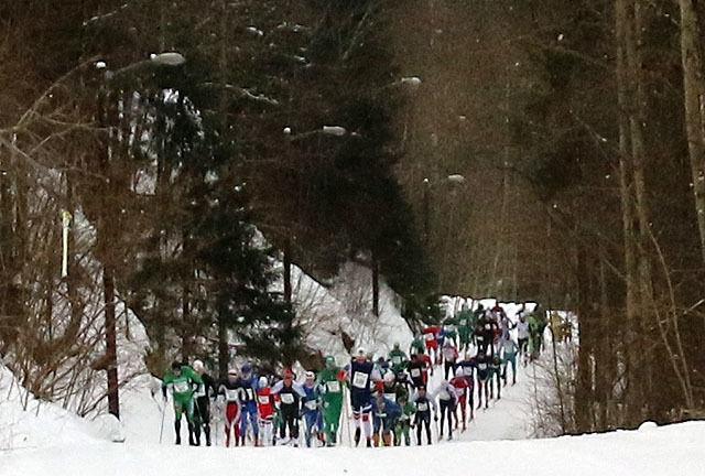 Fra Østmarkrunden i 2018 (Arkivfoto: Heming Leira)