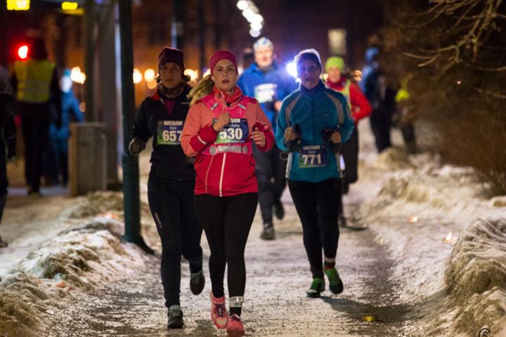 Fra venstre:  Kari Odberg, Fiona Lucy Hilton og Irene Kardaris Foto: Sylvain Cavatz