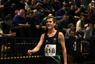 Jakob Ingebrigtsen satte ny innendørspers på 1500 m med 3.40,96. (Arkivfoto: Tom Roger Johansen)
