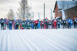 Trysil Skimaraton har  håp om at de kan slå rekordåret sitt fra 2012 da over 800 var påmeldt og 718 fullførte på Østby. (Foto: Hans Martin Nysæter/Destinasjon Trysil)
