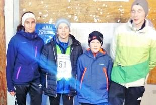 Hanna Øygard, Elisabeth Skogasel, Sondre Svåsand Måge og Lars Mundheim Oma