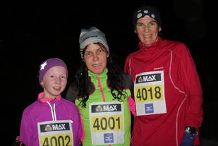 Disse 3 spreke fikk de beste tidene på 5km under sesongens 2. løp i karusellen