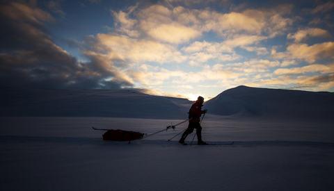 Fra Expedition Amundsen i 2017. Foto: Kai Otto Melau