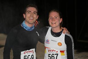 Tage Augustson og Lina Rivedal var de to første i mål under sesongens 5. løp