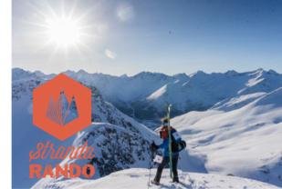 Stranda Rando har kanskje Norges mest unike skimoløype med 3000 høydemeter og 28 km lengde, en løype som byr på spektakulær utsikt og bratte fjell.