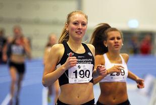 Elisabeth Angell Bergh har satt pers på både 800 og 1500 m denne våren. (Arkivfoto: Arne Dag Myking)