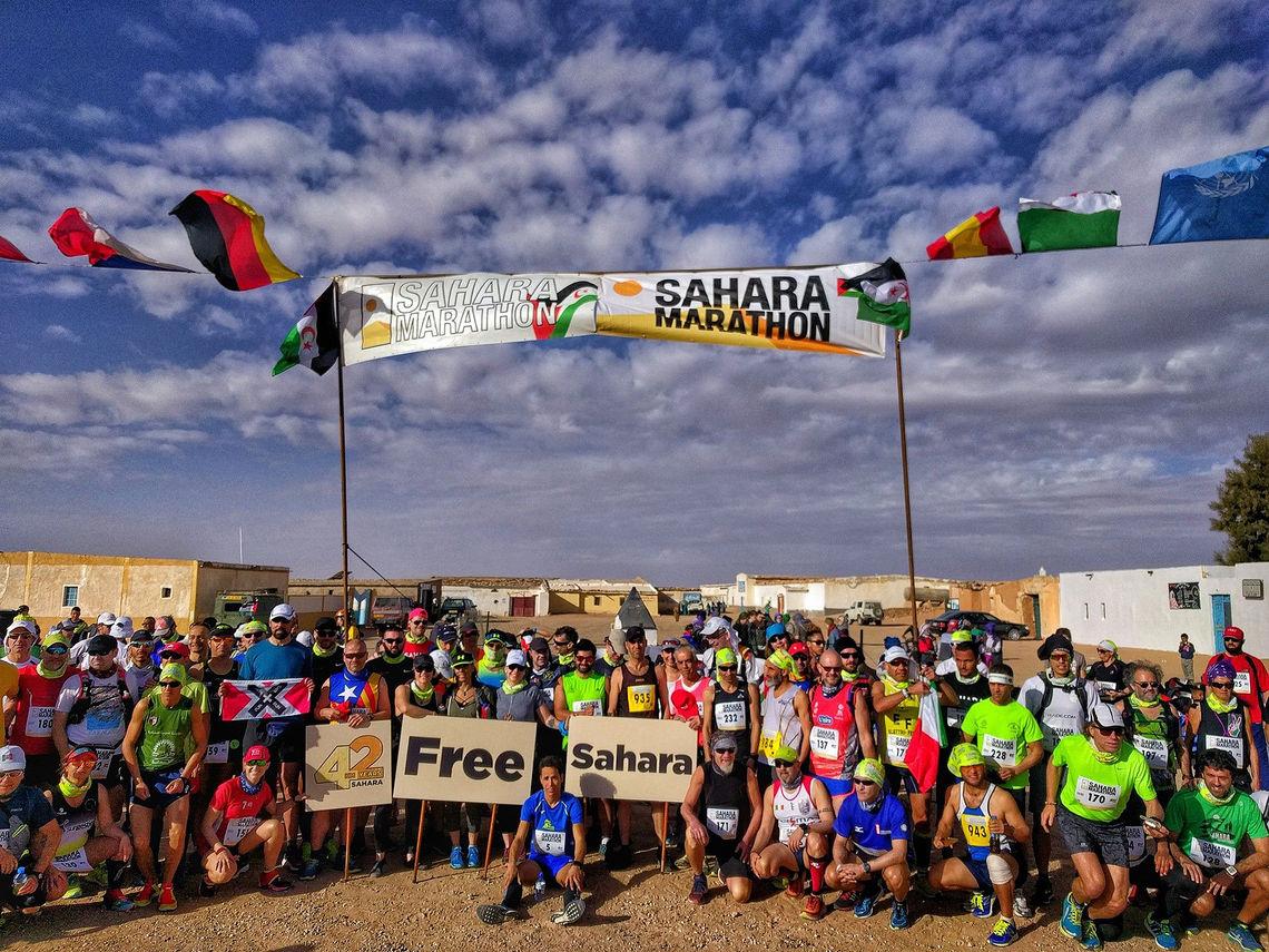 Foto; der annet ikke er nevnt: Sahara Marathon