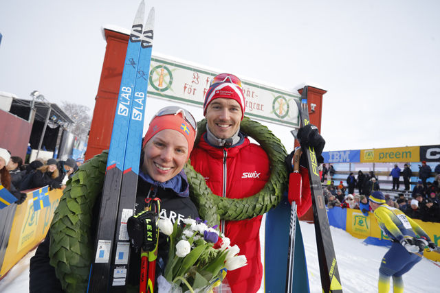 Lina Korsgren og Andreas Nygaard vant Vasaloppet og tok dermed også teten i Visma Nordic Thropy som består av de fire nordiske rennene i Ski Classics.