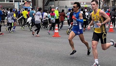 Jon Arne Gaundal, Steinkjer på vei mot 2.23.35 i Tokyo Marathon og en solid forbedring av den tidligere personlige rekorden på 2.29.35
