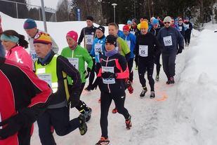 Fra starten. (Foto: Olav Engen)